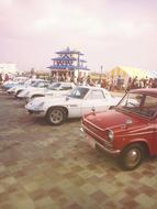 ☆ お祭りにて 旧車の展示 ☆